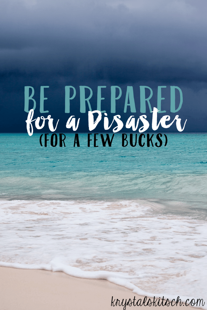 Learn how to create a disaster kit on a budget with these Dollar Tree must haves for your preparedness kit!