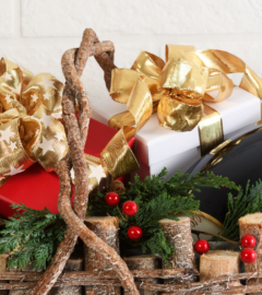 Gift Basket Ideas for Christmas Featured Image
